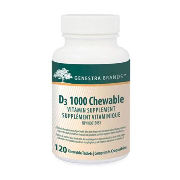 D3 1000 Chewable