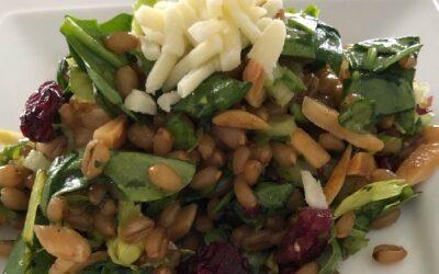 Wheat Berry Salad