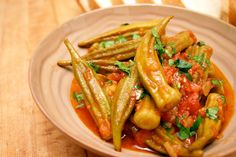 Greek Style Chicken and Okra