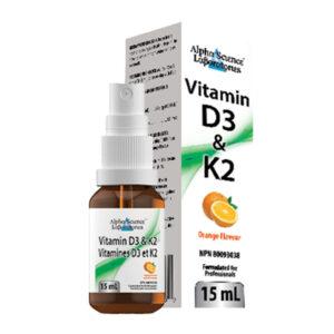 Vitamins D3 & K2 Orange