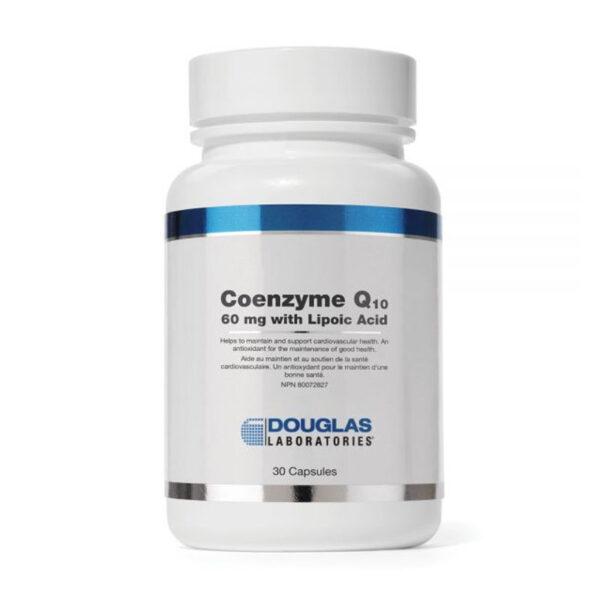 Coenzyme Q10 60 mg with Lipoic Acid