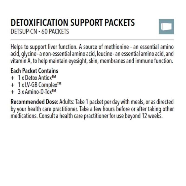 Detoxification Support Packets