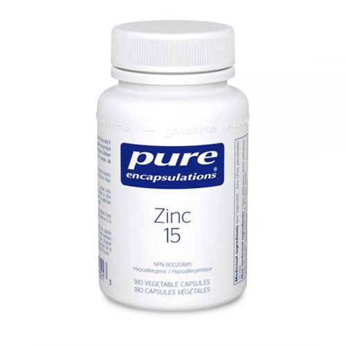 Zinc 15 mg